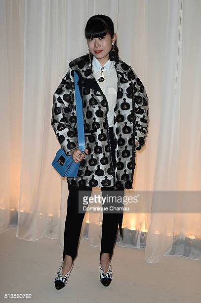 Susie Lau attends the Lanvin show as part of the Paris Fashion Week Womenswear Fall/Winter 2016/2017 on March 3 2016 in Paris France