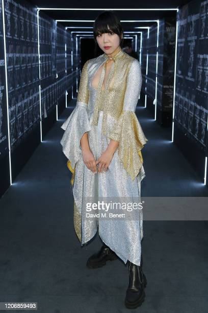 Susie Lau attends the launch of new exhibition Hurt Burn Ruin and More by Willy Vandeperre With AnOther Magazine at The Store X on March 12 2020 in...