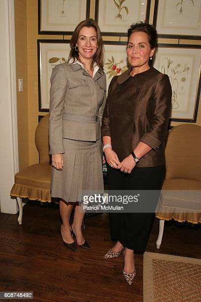 Susie Maggard and Cathy Cloutier attend ìAPPEARANCES ARE EVERYTHING ELSIE DE WOLFE COUTURE D…CORî WITH LOUIS BOFFERDING at Charlotte Moss Townhouse...