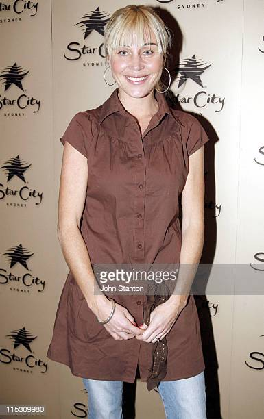 Susie Maroney during 36 Degrees Opening July 26 2006 at Star City Casino in Sydney NSW Australia