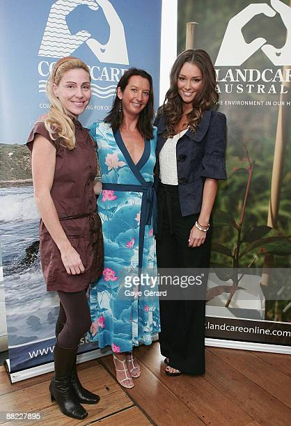 Susie Maroney Layne Beachly and Erin McNaught attend the Landcare Australia World Environment Day launch luncheon at Quayside Brassiere on June 5...