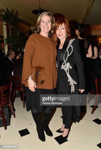Susie Shipley and Michele Fabrizi attend The Andy Warhol Museum's Annual NYC Dinner at Indochine on November 12 2018 in New York New York