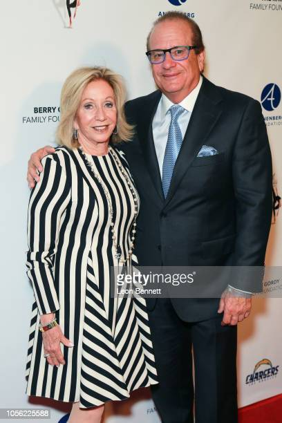 Susie Spanos and husband /owner of the Los Angeles Chargers Dean Spanos attends 18th Annual Debbie Allen Dance Academy Fall Soiree Fundraising...