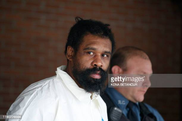 Suspect in Hanukkah celebration stabbings Thomas Grafton, 37 years old from Greenwood Lake, leaves the Ramapo Town Hall in Airmont, New York after...
