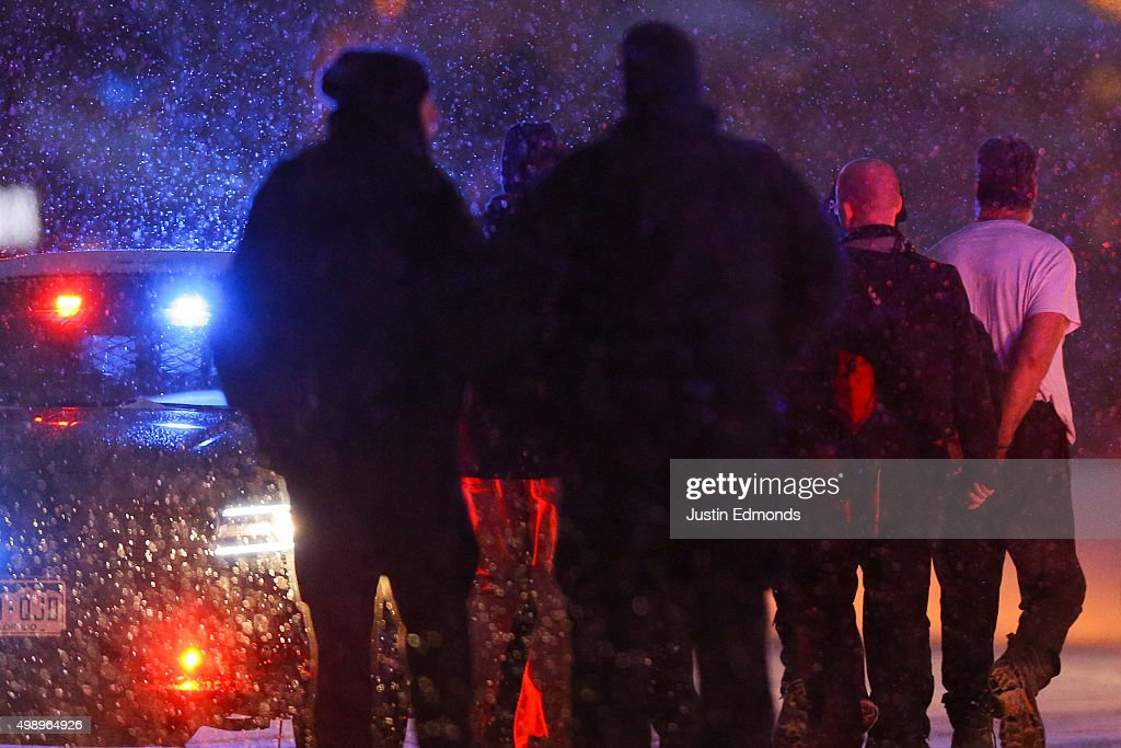 Shooting Near Planned Parenthood Office In Colorado Springs : News Photo