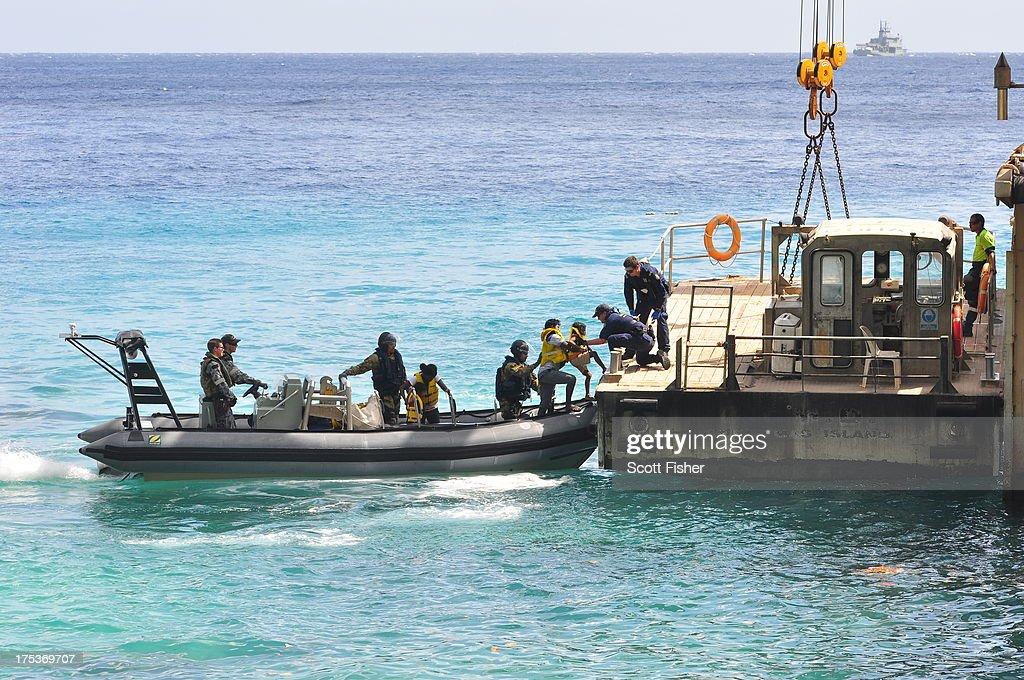 PM Rudd Announces Asylum Seeker Processing Deal With Nauru : News Photo