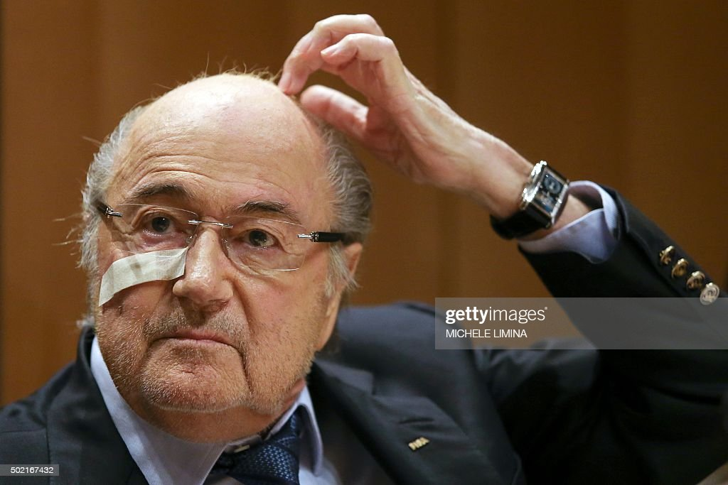FBL-FIFA-CORRUPTION-BLATTER : News Photo