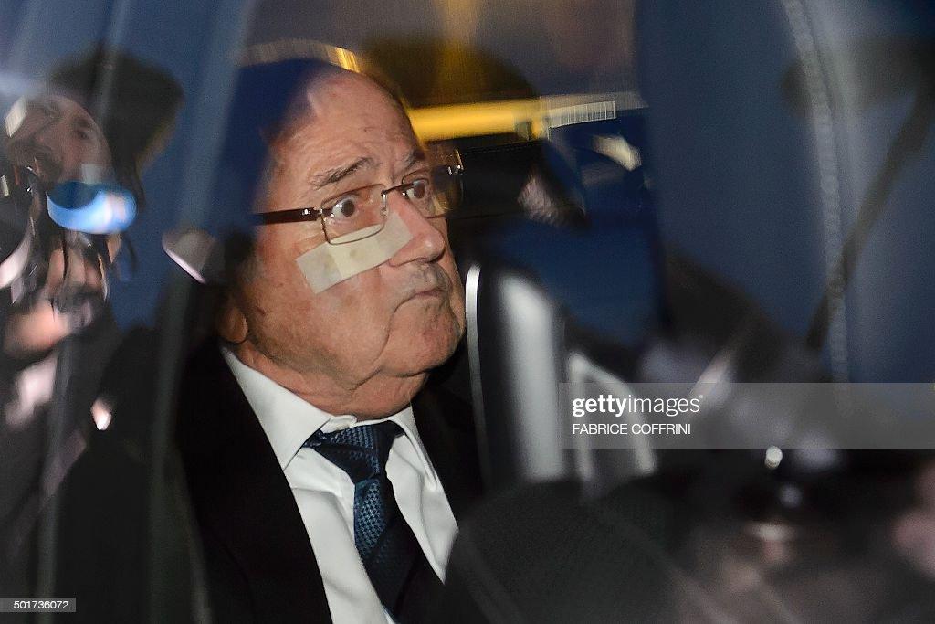 TOPSHOT-FBL-FIFA-CORRUPTION : News Photo