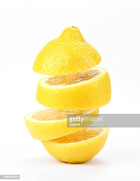 suspended lemon - lemon stock pictures, royalty-free photos & images