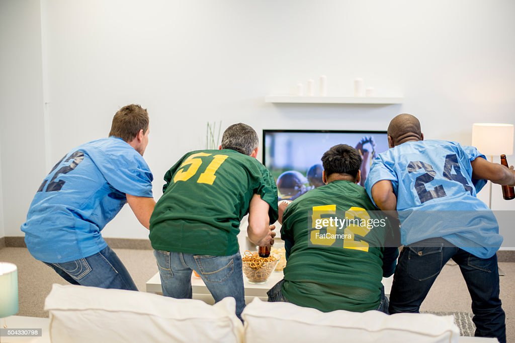 Suspense During the Game : Stock Photo