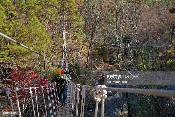 Suspension bridge adventure and canopy tour ZIPQUEST