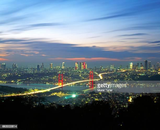 Suspension Bridge over the Bosphorus