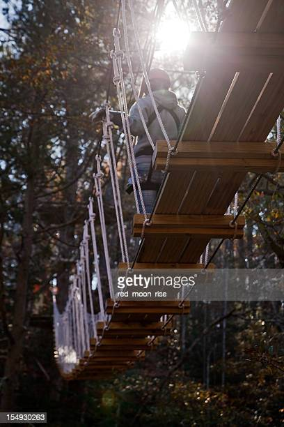 suspension bridge - fayetteville north carolina stock pictures, royalty-free photos & images