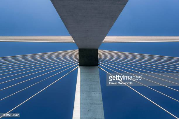 suspension bridge - architectural feature stock pictures, royalty-free photos & images