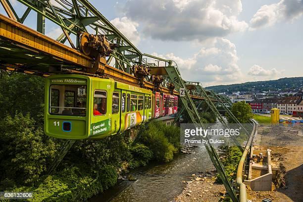Suspension Railroad in Wuppertal