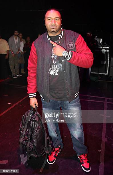 Suss One attends the 2nd Annual DJ Prostyle's Birthday Bash at Hammerstein Ballroom on April 16 2013 in New York City