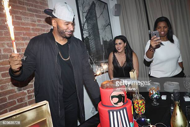 Suss One celebrates his birthday at The Loft on November 15 2016 in New York City