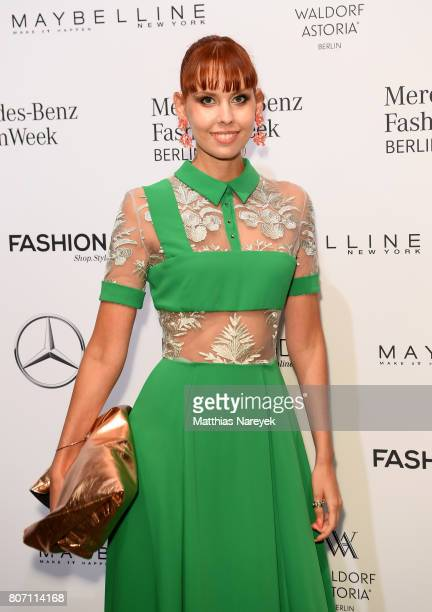 Sussan Zeck attends the Ivanman show during the MercedesBenz Fashion Week Berlin Spring/Summer 2018 at Kaufhaus Jandorf on July 4 2017 in Berlin...