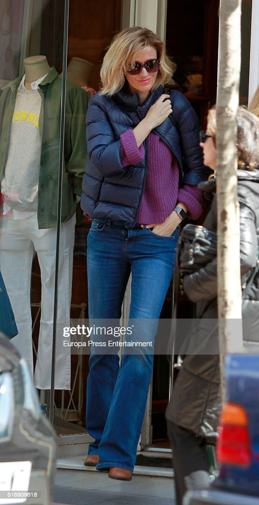 Sussana Griso is seen on March 21, 2016 in Madrid, Spain.