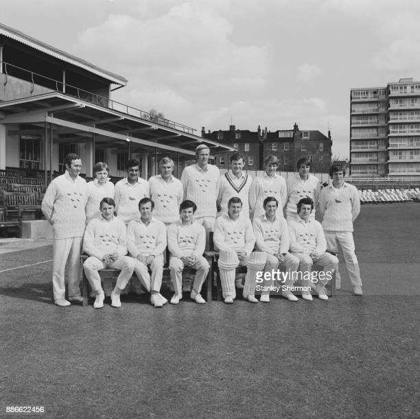 Sussex County Cricket Club UK 21st May 1971 Not in order Les Lehnham Alan Mansell Uday Joshi Peter Graves Tony Greig Roger Pridaux Mike Buss Geoff...