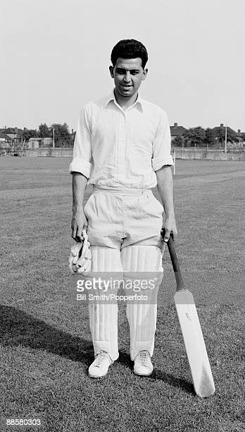 Sussex cricketer Denis Foreman circa 1961 He also played professional football for Brighton Hove Albion