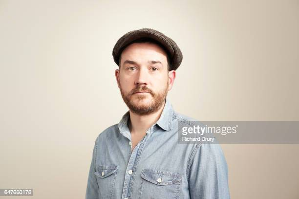 sustainability portrait - flat cap stock pictures, royalty-free photos & images
