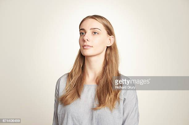 sustainability portrait - looking away stock pictures, royalty-free photos & images