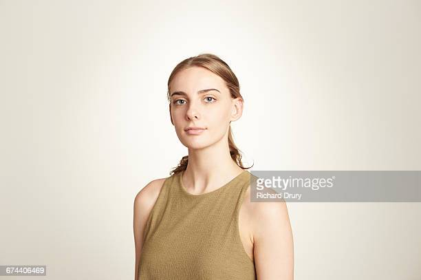 sustainability portrait - sleeveless stock pictures, royalty-free photos & images