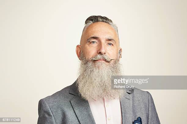 sustainability portrait - beard stock pictures, royalty-free photos & images