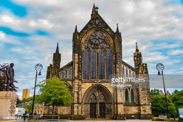 sustainable glasgow - cathedral stock pictures, royalty-free photos & images
