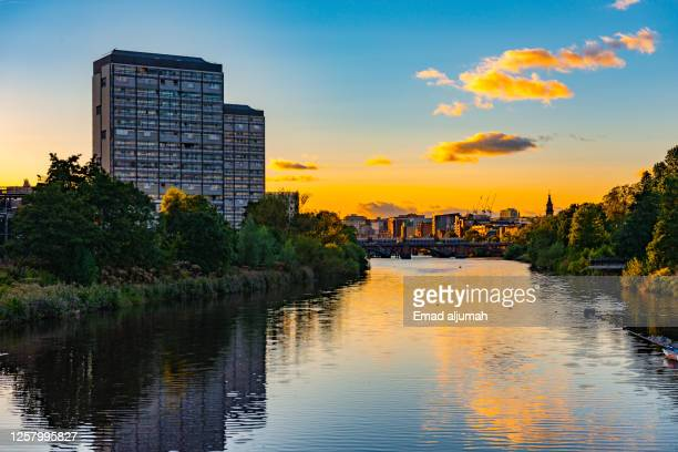 sustainable glasgow - glasgow stock pictures, royalty-free photos & images