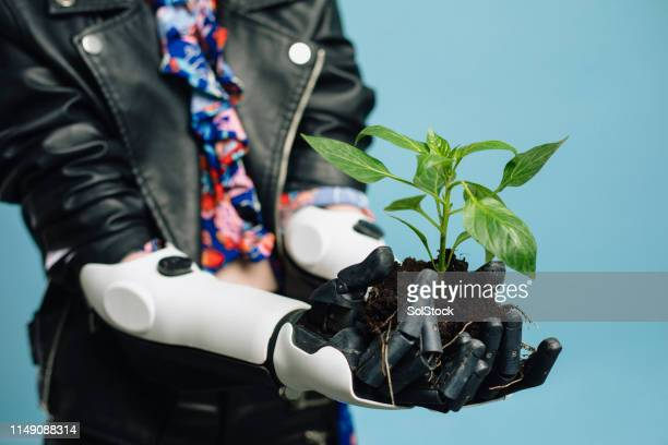 a sustainable lifestyle - prosthetic equipment stock pictures, royalty-free photos & images