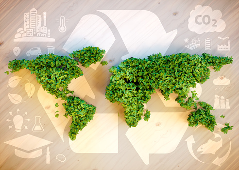 Sustainable world concept. 508135150