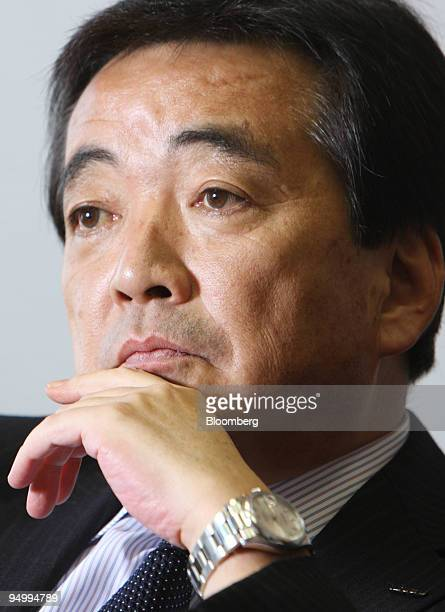 Susumu Hosoi president of Isuzu Motors Ltd listens during an interview in Tokyo Japan on Friday Dec 18 2009 Isuzu Motors Ltd Japan's largest maker of...
