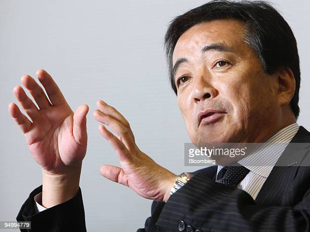 Susumu Hosoi president of Isuzu Motors Ltd speaks during an interview in Tokyo Japan on Friday Dec 18 2009 Isuzu Motors Ltd Japan's largest maker of...