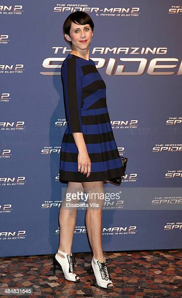 Susy Laude attends 'The Amazing Spider-Man 2: Rise Of Electro' Rome Premiere at The Space Moderno Cinema on April 14, 2014 in Rome, Italy.