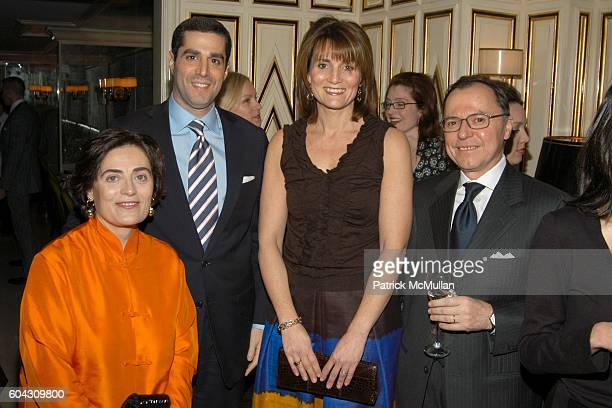 Susy Musella Jim Gold Beth Gold and Aniello Musella attend BERGDORF GOODMAN and The Italian Trade Commission host a dinner with the Young Friends of...