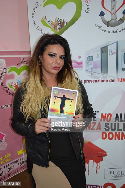 Susy Silvestri at a conference with the theme To smile again violence against women is not just a crime story is organized by the Association Friends...