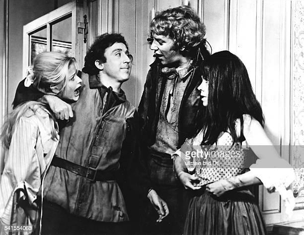 Sutherland Donald *Schauspieler Kanada mit Ewa Aulin und Gene Wilder in dem Film 'Die franzoesische Revolution fand nicht statt' 1971