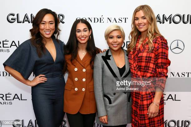 Sutian Dong Audrey Gelman Jen Rubio and Ty Haney attend 2018 Glamour Women Of The Year Summit Women Rise at Spring Studios on November 11 2018 in New...
