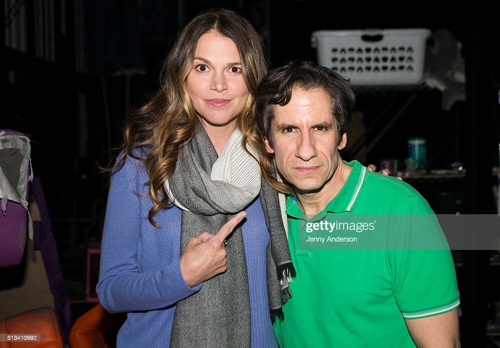 sutton foster and edie falco visit