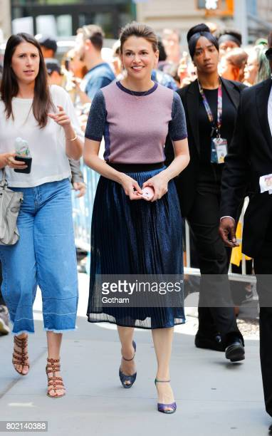 Sutton Foster at AOL Build on June 27 2017 in New York City