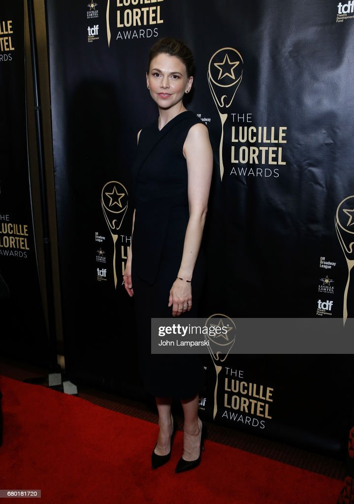 Sutton Foster attends 32nd Annual Lucille Lortle Awards at NYU Skirball Center on May 7, 2017 in New York City.