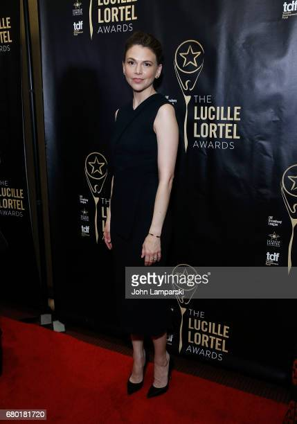 Sutton Foster attends 32nd Annual Lucille Lortle Awards at NYU Skirball Center on May 7 2017 in New York City