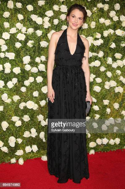 Sutton Foster attends the 2017 Tony Awards at Radio City Music Hall on June 11 2017 in New York City