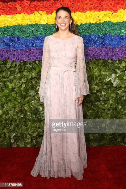 Sutton Foster attends the 2019 Tony Awards at Radio City Music Hall on June 9 2019 in New York City