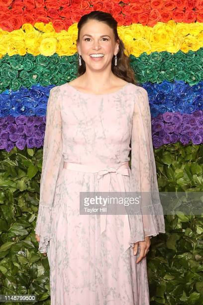Sutton Foster attends the 2019 Tony Awards at Radio City Music Hall on June 9, 2019 in New York City.