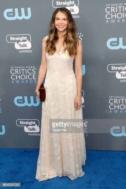 Sutton Foster attends the 23rd Annual Critics' Choice Awards at Barker Hangar on January 11 2018 in Santa Monica California