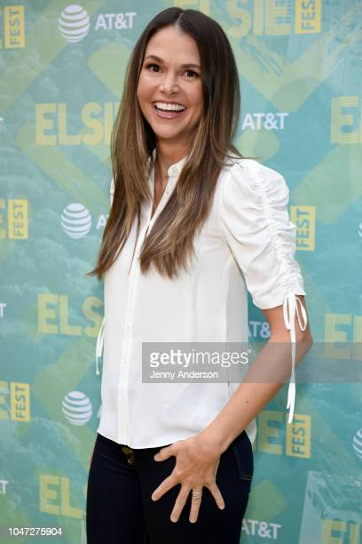 Sutton Foster attends the 4th Annual Elsie Fest Broadway's Outdoor Music Festival at Central Park SummerStage on October 7 2018 in New York City
