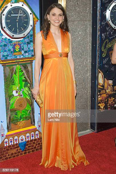 Sutton Foster attends the '63rd Annual Tony Awards' at Radio City Music Hall in New York City